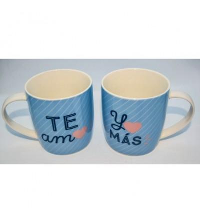 Pack Mugs Te Amo, Yo Más