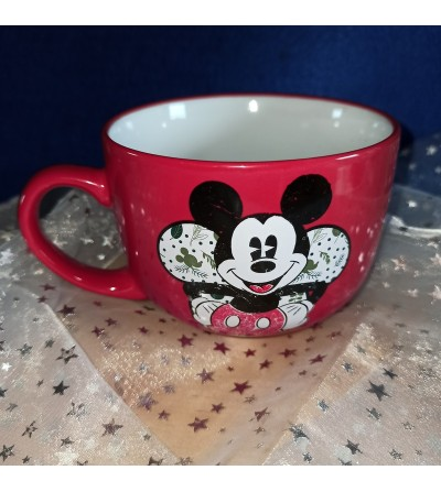 Taza capuccino Mickey Mousse