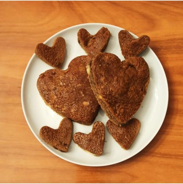 Brownie de Turrón de Chocolate