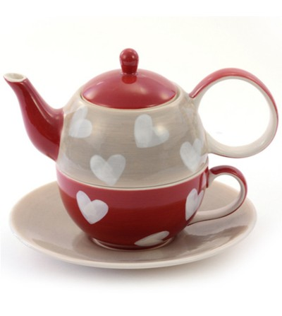 Tea For One Corazones